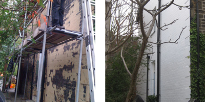 how to patch prepare fibreglass for painting